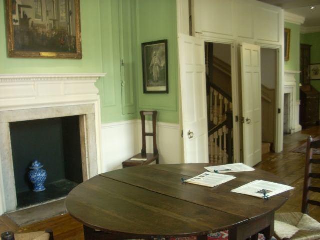 inside Samuel Johnson's house