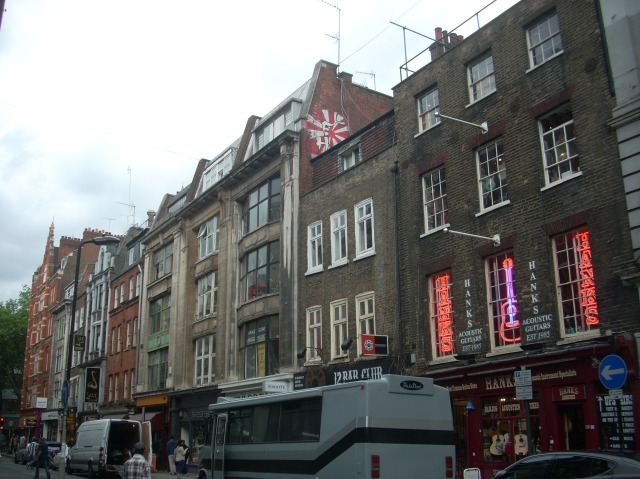 Denmark Street: a small London street with multiple connections to the history of British popular music