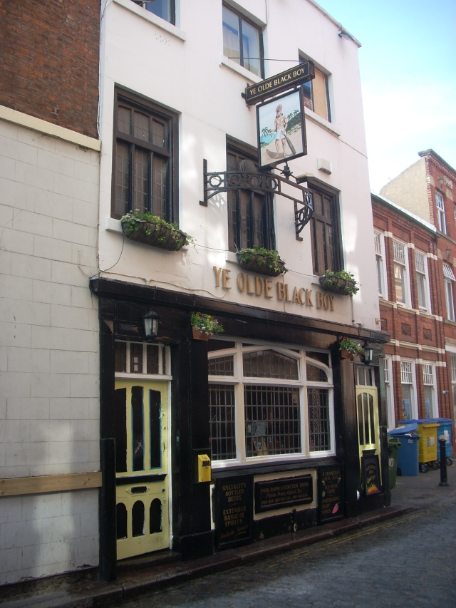 Ye Old Black Boy Pub is the oldest pub in Hull, dating back to 1729. It's also where Larkin liked to listen to jazz.