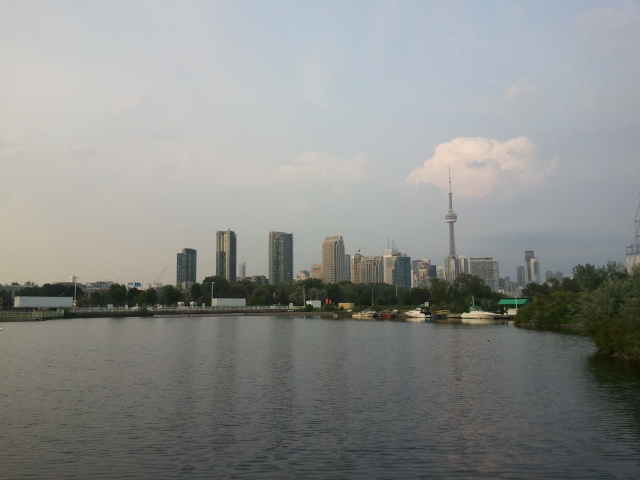 The Toronto skyline is constantly changing.